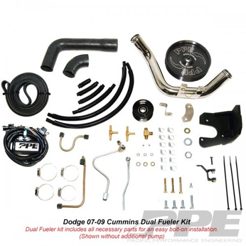 DODGE 2007.5-09 6.7L DUAL FUELER CP3 KIT W/O PUMP