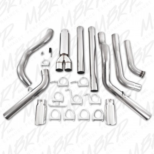 2003-07 FORD 6.0LMBRP 4'' COOL DUALS OFF-ROAD AL