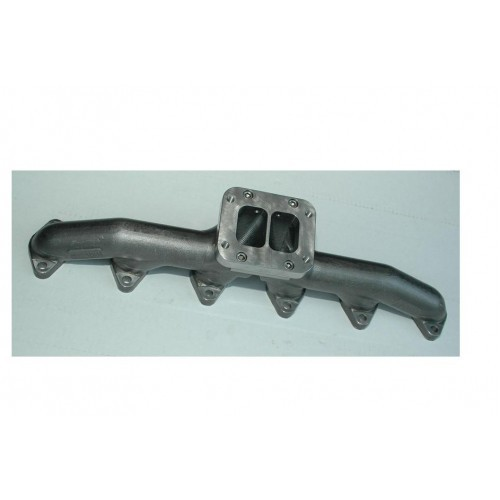 24V 2ND GEN. T6 STAINLESS DIESEL EXHAUST MANIFOLD POLISHED