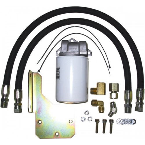 BD Inline Trans Filter Kit - 1999-2003 Ford 4R100