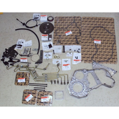 98-02 DODGE CONVERSION KIT WITH STEEL FUEL LINES (P7100 PUMP NOT INCLUDED)