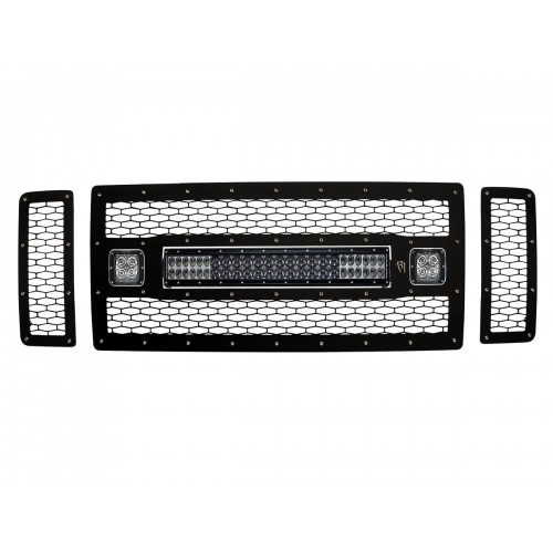 FORD F250/F350 LIGHTED GRILLE 2008-10