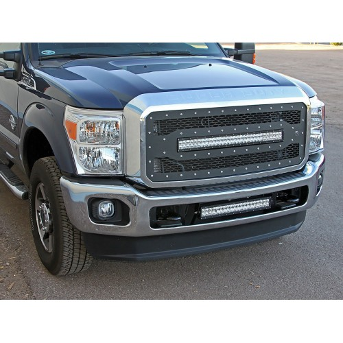 FORD F250/F350 LIGHTED GRILLE 2011-15