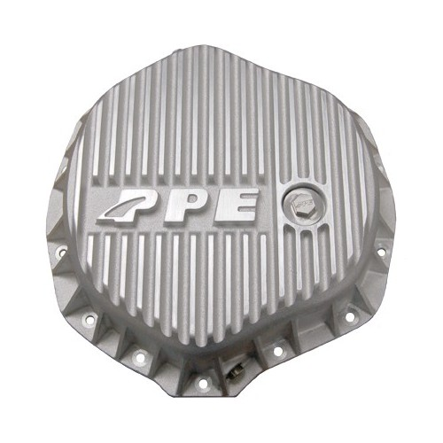 PPE Heavy Duty GM/Dodge Rear Aluminum Differential Cover - Brushed