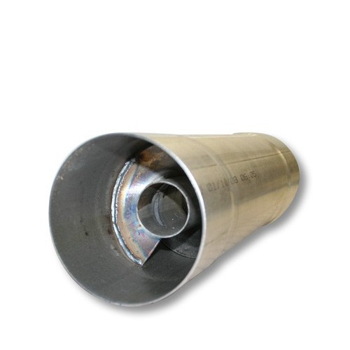 FTE Diesel 4'' Aluminized Resonator
