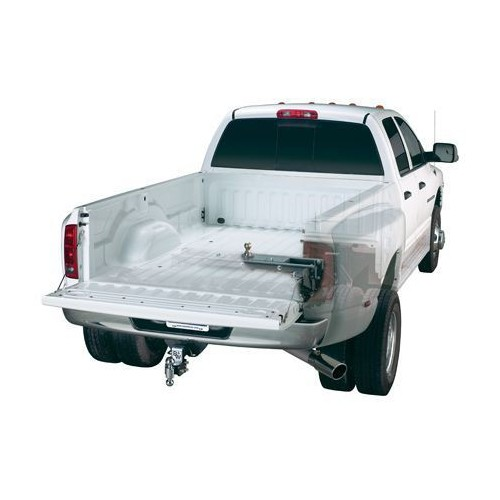 2016 Chevy Silverado 2500HD (Long & Short Bed) - Turnoverball Gooseneck Hitch