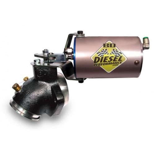 1994-2002 24v Dodge Remote Mount Exhaust Brake For 4'' Exhaust