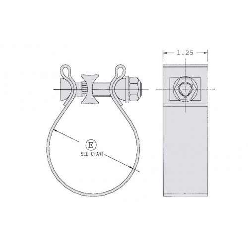 "4"" ID AccuSeal® High Torque / Non-Destructive Band Clamp"