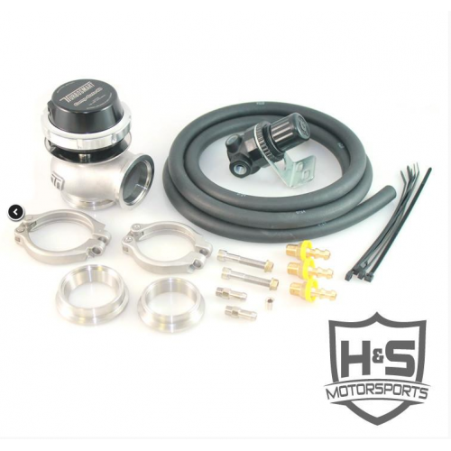 H&S MOTORSPORTS Universal 40mm Wastegate Kit 562001