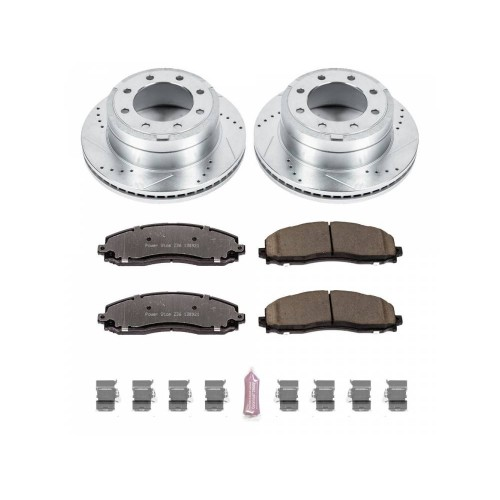 2011-2019 Ford F250/F350 Power Stop Truck and Towing Z36 Brake Pad & Rotor Kit