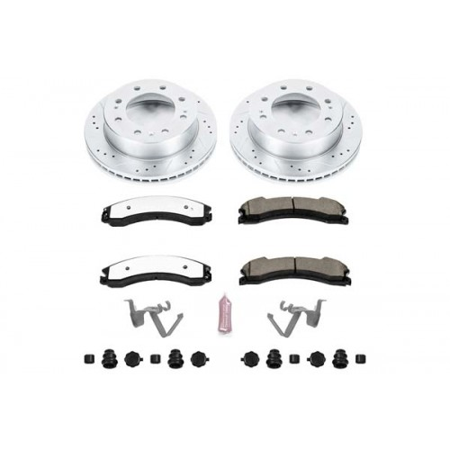 2011-2018 GM 2500-3500  Power Stop Z36 Front Brake Pads & Rotor Kit