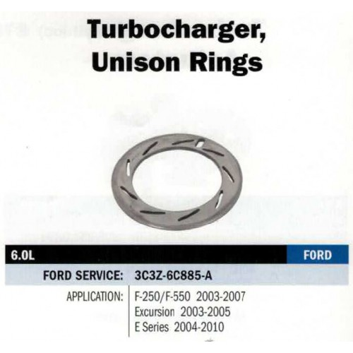 FORD OE TURBOCHARGER UNISON RING 3C3Z6C885A 6.0L FORD 03-07