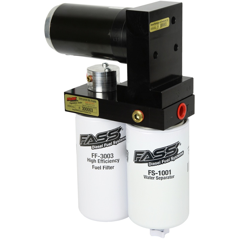 """Performance diesel is a """"Authorized fass Dealer"""""""