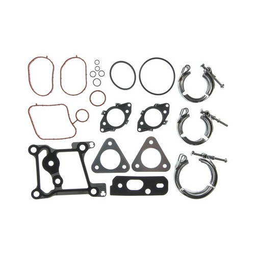MAHLE - Turbocharger Mounting Gasket Set - Ford 6.7L