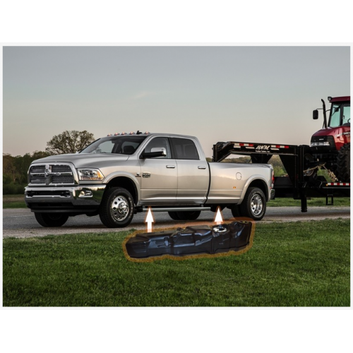 RAM Mid-ship Crew Cab, Long Bed --- Super Series 2013-2019