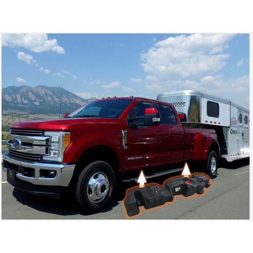2017-19 FORD Crew Cab, Long Bed - Generation 6 TITAN Fuel Tank, 65 Gallons
