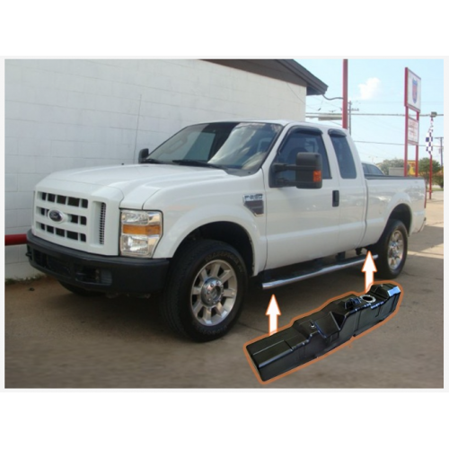 Ford Crew & Extended Cab, Long Bed SUPER SERIES 2008-2010