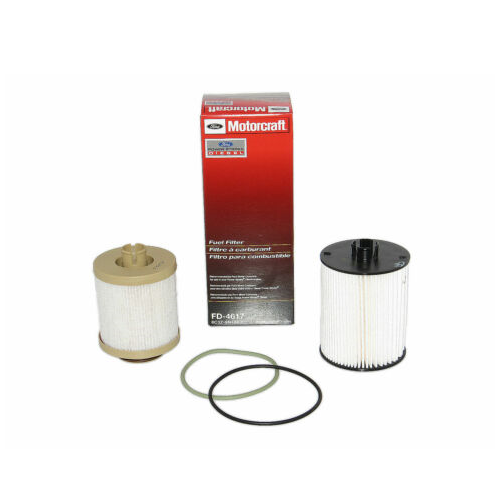 FORD 2008-2010 6.4L POWERSTROKE MOTORCRAFT FUEL FILTER SET