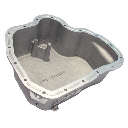 PPE High-Capacity Cast Aluminum Deep Engine Oil Pan - GM 2001-2010 Raw