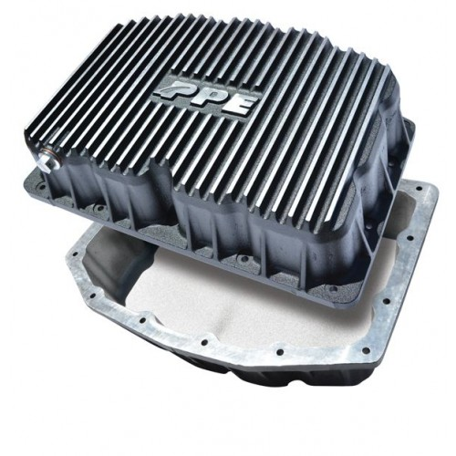 Heavy-Duty Cast Aluminum Oil Pan - Ford 6.7L 2011-2017 Brushed