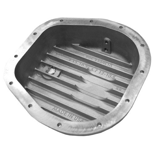 PPE Heavy Duty Ford Rear Aluminum Differential Cover - Brushed