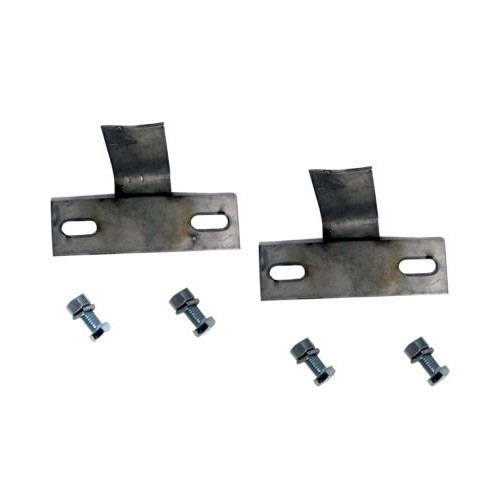 GM 01-07 2500/3500 - Stainless Steel Mounting Kit With Hardware