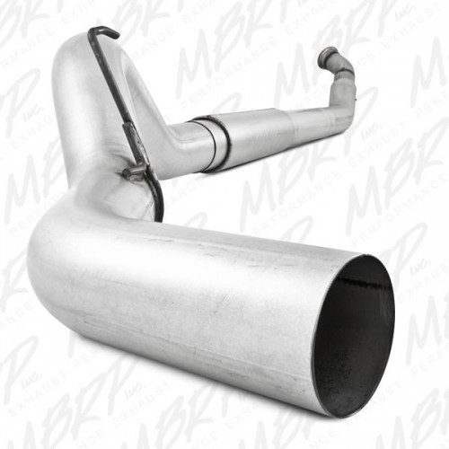 Dodge 04-07 2500/3500 Cummins In.600/610 In. - Turbo Back, 5 In. Single Side