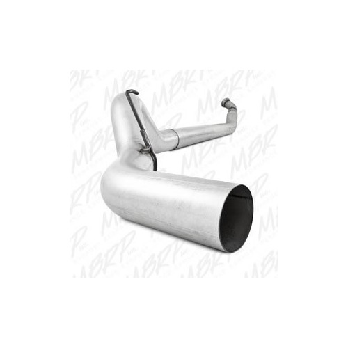 "2004-2007 Dodge 2500/3500 5"" Turbo Back, Single - No Muffler"