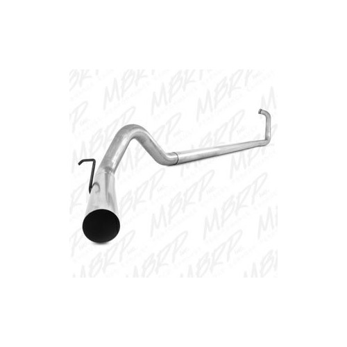 Ford 03-07 F-250/350 6.0L, Turbo Back, Single Side Off-Road No Muffler