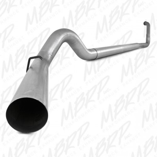 "2003-2007 Ford 5"" Turbo Back, Single Side - no muffler"