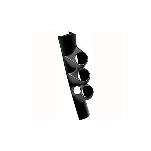 98-02 Dodge Triple Pillar (Black) W/ Speaker