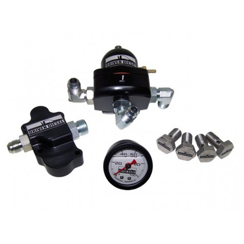 DRIVEN DIESEL 6.0L REGULATED RETURN KIT W/ HIGH FLOW BANJO BOLTS
