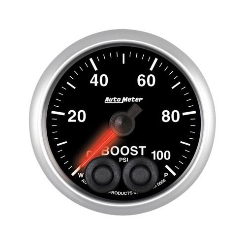 AUTO METER ELITE 0-100 BOOST GAUGE