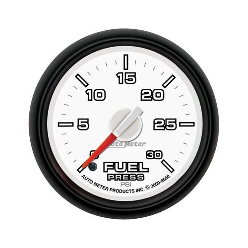 AUTO METER DODGE FACTORY MATCH 0-30 FUEL PRESSURE GAUGE