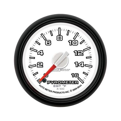 AUTO METER DODGE FACTORY MATCH 0-1600 PYROMETER GAUGE