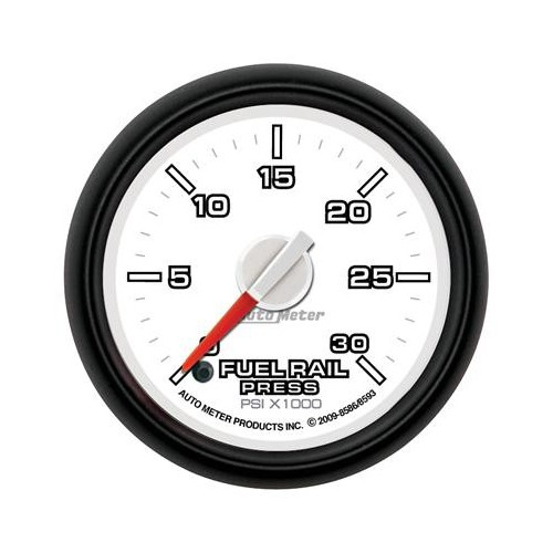 AUTO METER DODGE FACTORY MATCH 0-30,000 RAIL PRESSURE GAUGE