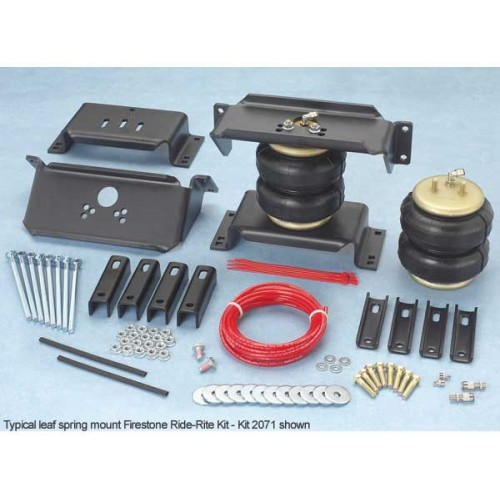 1999-04&08-107.3/6.0/6.4 SUPERDUTY RIDE RITE KIT W/ IN BED HITCH